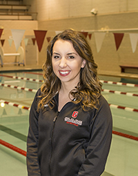 Ashley Henderson, Lansing Christian School alumna, class of '12, distinguishes herself at Grove City College in water polo