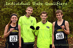 Lansing Christian School top Cross Country finishers at the 2015 Regionals