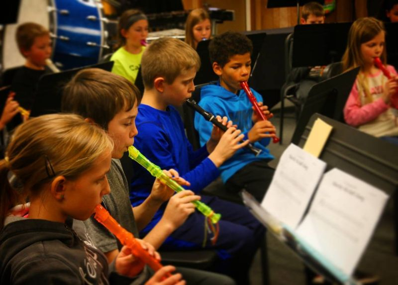 #4thGrade students creating music with the recorder. #music #musiceducation #LcsCreates #LCSgram