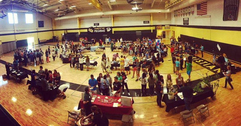 Favorite if you learned something new at the #LcsCareerFair yesterday.  #LcsEquips #LCSgram (photo by @jjblock)