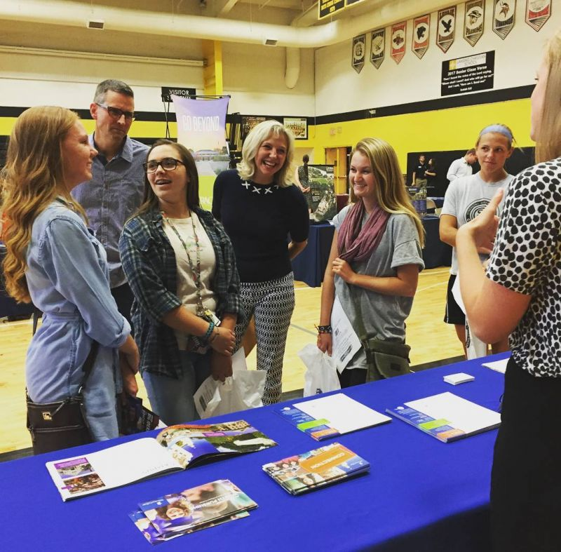College? Already?!! Students and parents took the opportunity to tour 30 different colleges under one roof at the Christian College Fair this week at LCS. #TheyGrowUpSoFast #LcsPrepares #LCSgram (photo by @kealeigh_usiak)