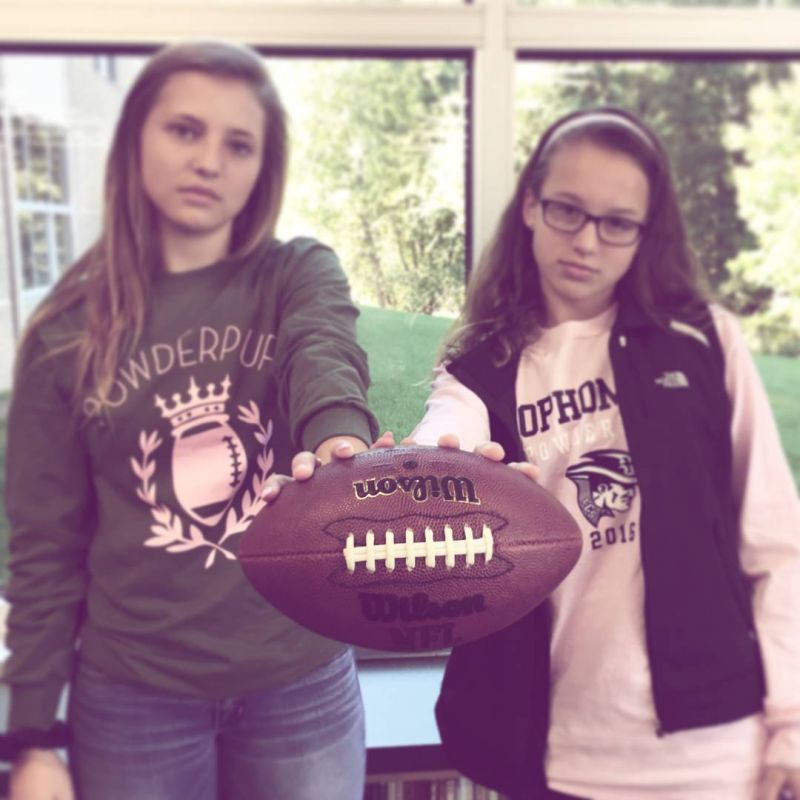Powderpuff. Be there. First game is today (Fri) at 3:30. #LcsPowderpuff #LCSgram