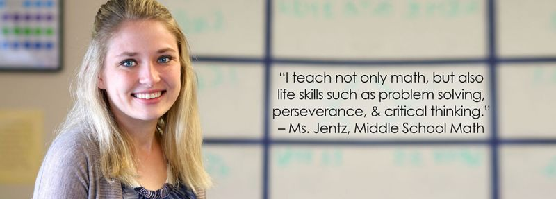 Miss Jentz – Middle School Math