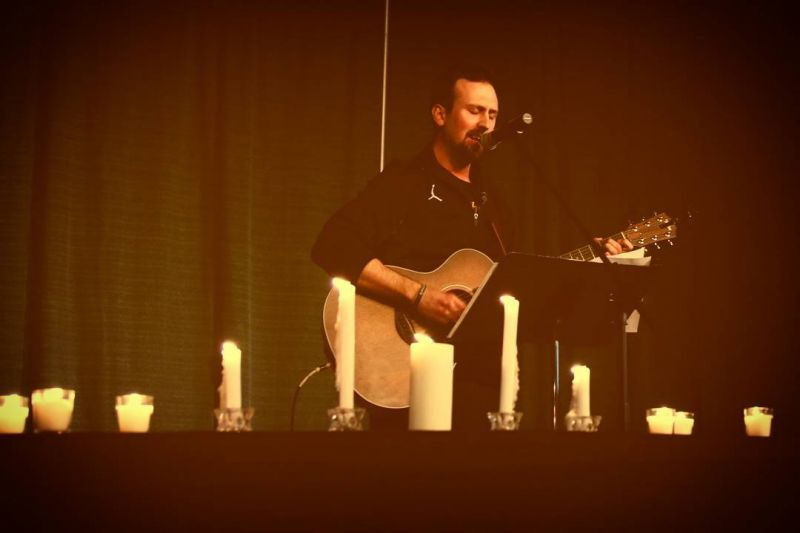 #LcsTBT When Mr. Anderson led worship at the Easter Chapel. He is risen! #HeIsRisenIndeed #LCSgram