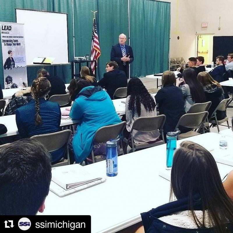#Repost @ssimichigan ・・・ Former State Representative Paul Opsommer is speaking now at our SSI Onsite with @lcspilgrims!