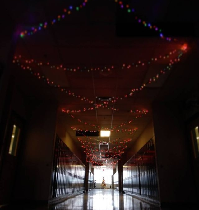 It's the most wonderful time of the year! The hallways are glowing, Christmas (and Star Wars) songs are playing, and everyone's finishing their work before break. #LcsChristmas
