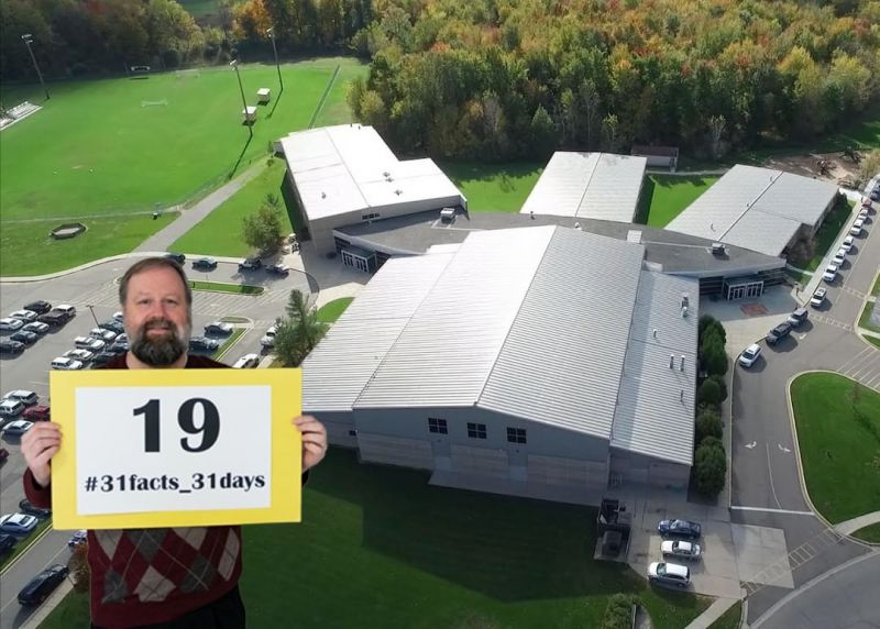 19 years ago, LCS moved into our current facility on Belle Chase Way, just after Mr. Bjarki joined the high school faculty. 2019 marks 20 years of teaching for him, and it also marks 68 years of LCS serving the Greater Lansing community by teaching students from a Christian worldview since 1951. #LCS_highschool #31facts_31days #LCS_Legacy www.lansingchristianschool.org/admissions/campus-visits