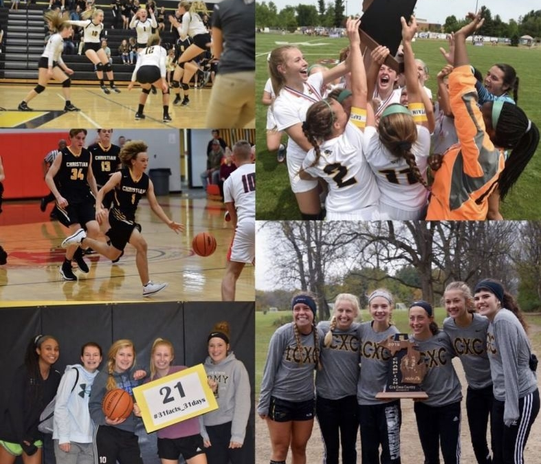 21 Varsity Athletic Teams are offered at LCS. #LCS_highschool #31facts_31days #LCScompetes #GoPilgrims