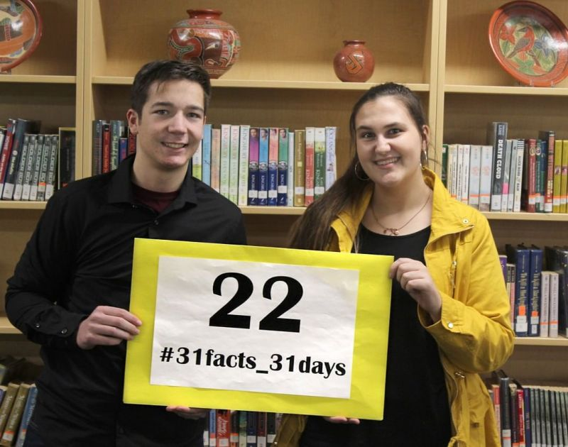 22% of LCS high school students participate in the LCS Student Ambassador Program. #LCS_highschool #31facts_31days #LCS_Serves #LCS_ambassadors