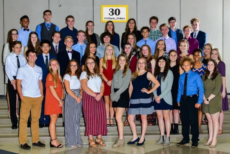 30% of LCS high school students participate in National Honor Society. #LCS_highschool #31facts_31days #LCS_NHS #NationalHonorSociety