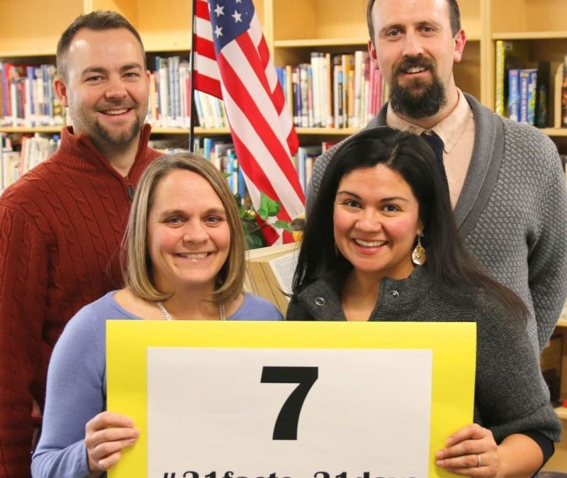 7 days per week: Our faculty and staff honor God by living for Christ every day. #LCS_highschool #31facts_31days #LCS_faculty  http://www.lansingchristianschool.org/admissions/campus-visits