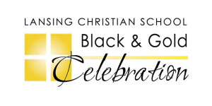 Black & Gold Celebration logo