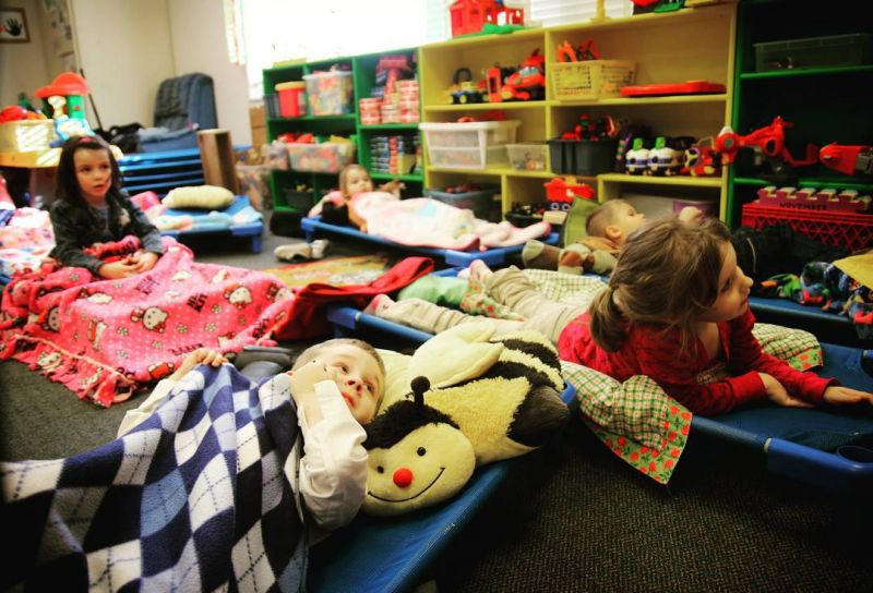 All The Little Pilgrims Love The Cots In Mrs H S Room