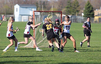 Lansing Christian School lacrosse in cooperation with Waverly Schools