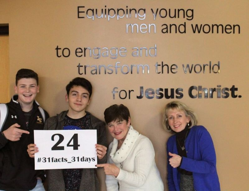 24/7 the LCS community glorifies God through relationships, character, and service. #LCS_highschool #31facts_31days #LCScommunity #LCS_Glorifies www.lansingchristianschool.org/admissions/campus-visits