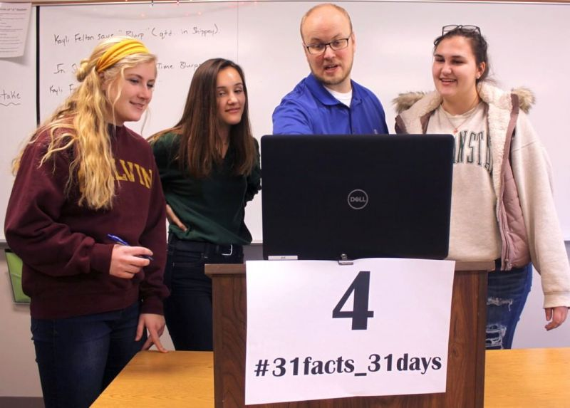 4 years of guidance: Students receive College & Career Guidance Counseling every year of high school. #LCS_highschool #31facts_31days #LCSequips  https://www.lansingchristianschool.org