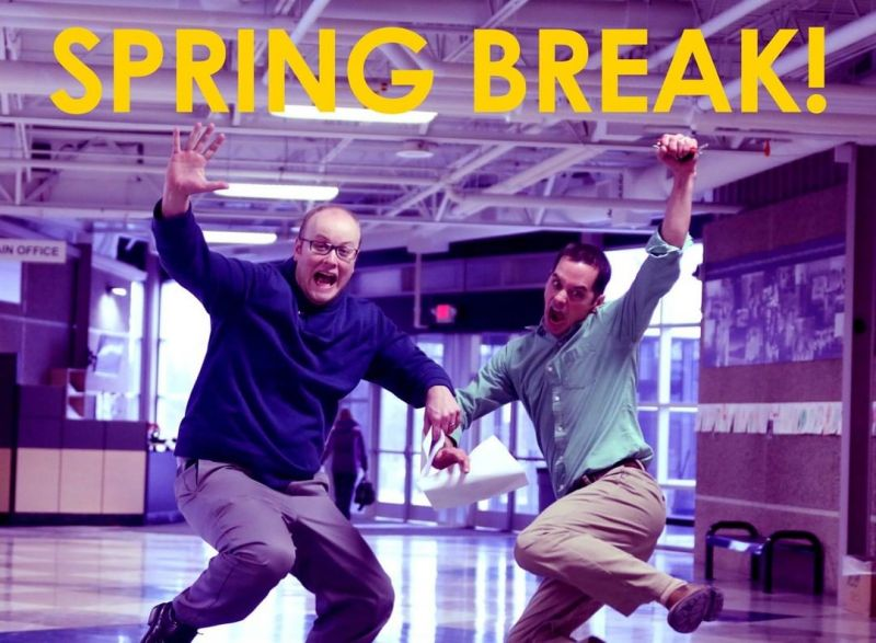 Who else is ready for Spring Break? Have fun, stay safe, and get some well-deserved rest!