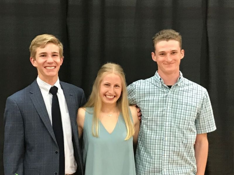 Congratulations Wesley Tate, Natalie Woodland, and Luke Bowden on being selected as members of the Greater Lansing Activities Association All-Academic Team. A twenty-one member team was selected from the schools in our conference. These selections are based on a formula that combines overall GPA and ACT or SAT scores. These students were honored for their accomplishments at a banquet on April 17. #LCS_Equips www.lansingchristianschool.org