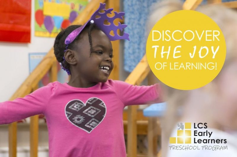 Want the best preschool experience for your child? So do we! We have a variety of new scheduling options in our Early Learners Preschool program. #DiscoverTheJoyAtLCS #IBelongAtLCS http://ow.ly/4kpG30osp4c
