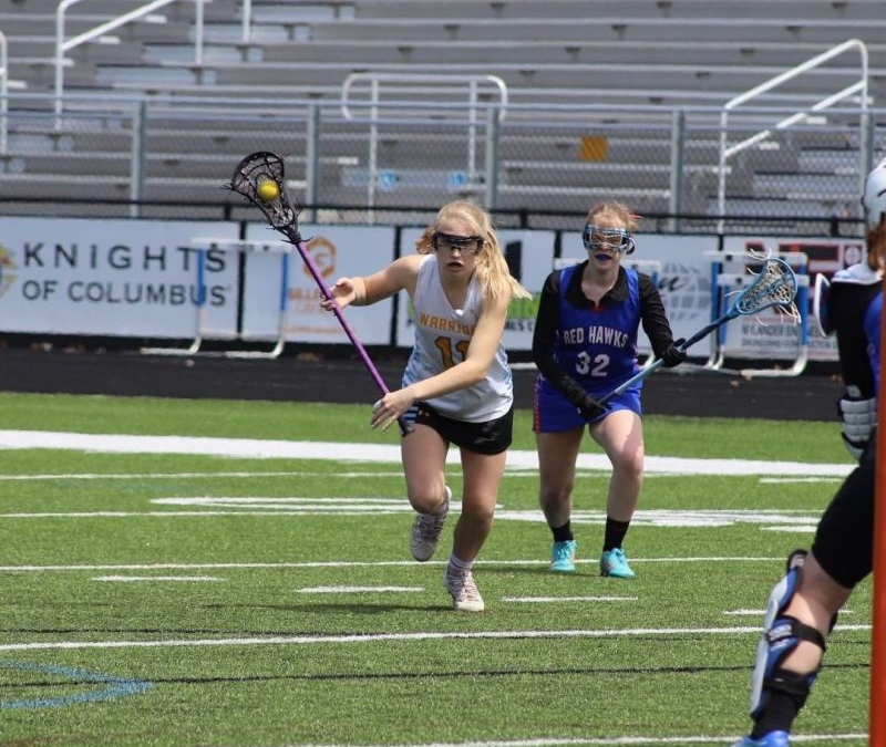 Congratulations to Natalie Woodland who is crushing the area when it comes to goals scored in lacrosse! She is mentioned in the Lansing State Journal for leading the area in goals and is also in the top 6 for assists! #GoPilgrims www.lansingchristianschool.org