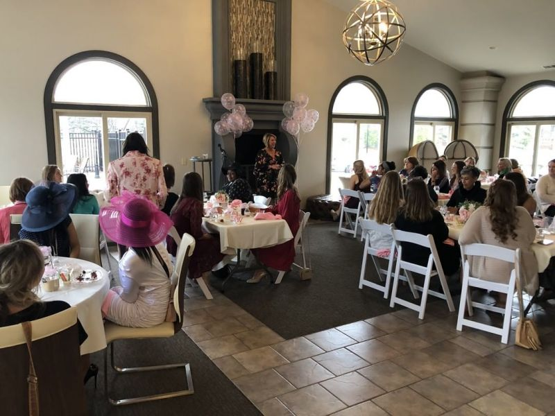 The Senior Mother/Daughter Tea has been a tradition at LCS since 2004.  Senior Mothers and Daughters gather for tea and goodies and are blessed by a speaker – Sara Mustapha was the guest speaker this year. www.lansingchristianschool.org