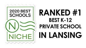 Lansing Christian School is ranked a #1 Niche K-12 Private School in Lansing, MI