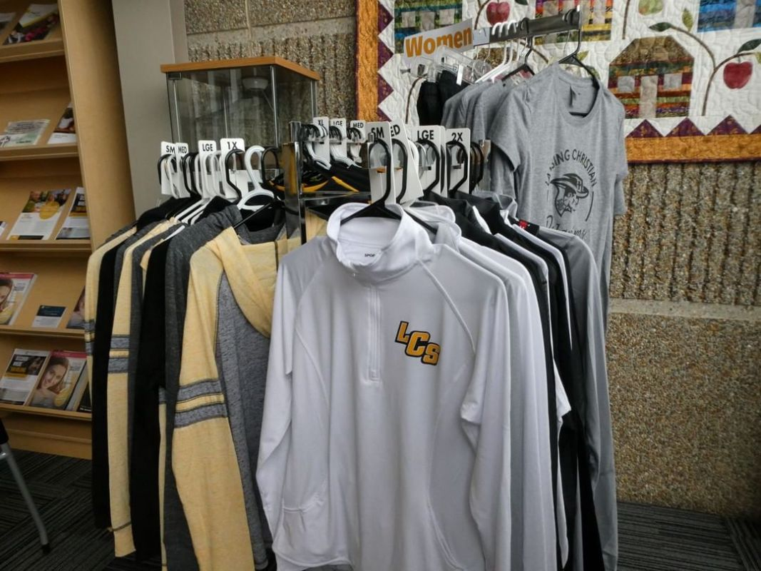 Need some Christmas gift ideas? Check out all the new items in the LCS spirit wear store. The store is open Monday – Friday from 7:30 AM-3:30 PM. www.lansingchristianschool.org