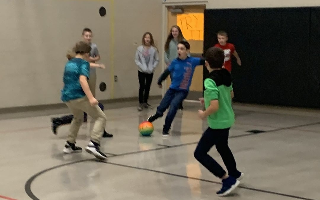 The 6th grade Social Studies class is learning about the Mayan Civilization. They played a traditional Mayan ball game to experience some of the Mayan culture! #LCS_HaveItAll www.lansingchristianschool.org